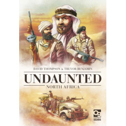 Undaunted: North Africa: Sequel to the Board Game Geek Award-Winning WWII Deckbuilding Game