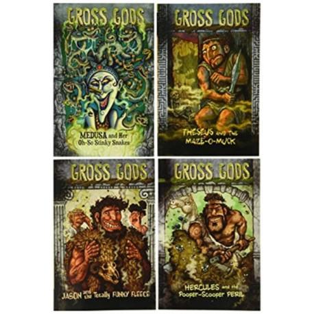 Gross Gods Pack A of 4
