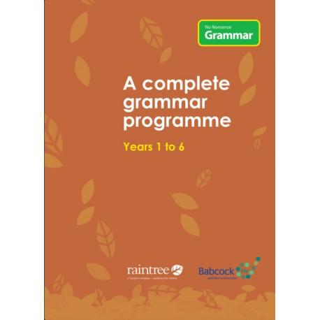 No Nonsense Grammar: A Complete Grammar Programme