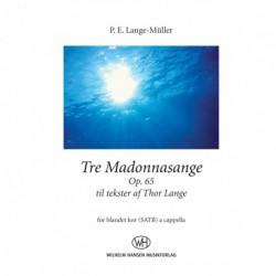 Tre Madonnasange Op. 65