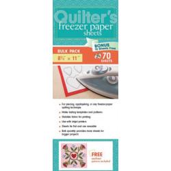 Quilter's Freezer Paper Sheets, Bulk Pack: 70 Sheets, 81/2  x 11