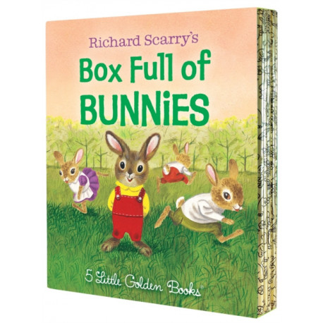 Richard Scarry's Box Full of Bunnies