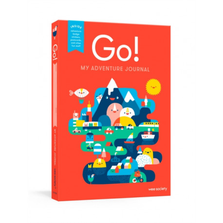 Go! Red: A Kids' Interactive Travel Diary and Journal