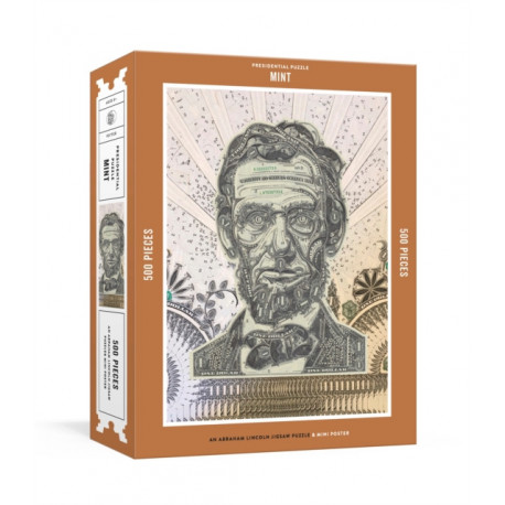 Presidential Puzzle-Mint: An Abraham Lincoln Jigsaw Puzzle and Mini-Poster