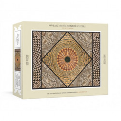 Mosaic Mind Bender Puzzle: An Ancient Roman Mosaic Jigsaw Puzzle and Mini-Poster