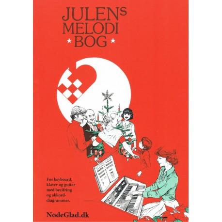 Julens Melodibog: Arrangeret for klaver, keyboard & guitar i lette tonearter.
