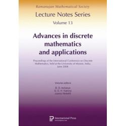 Advances in Discrete Mathematics and Applications: Proceedings of the International Conference on Discrete Mathematics