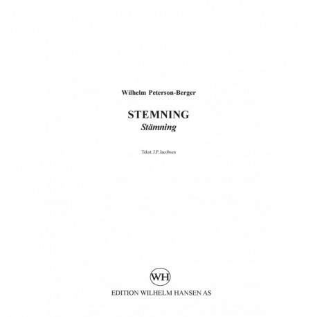 Stemning / Stämning