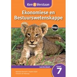 Ken & Verstaan Ekonomiese en Bestuurwetenskappe Leerdersboek Graad 7