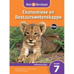 Ken & Verstaan Ekonomiese en Bestuurwetenskappe Onderwysersgids Graad 7
