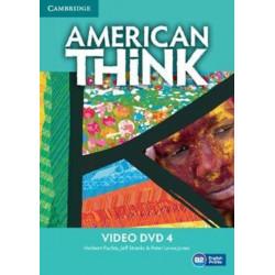 American Think Level 4 Video DVD