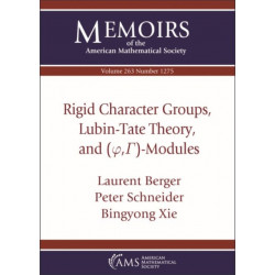 Rigid Character Groups, Lubin-Tate Theory, and $(\varphi ,\Gamma )$-Modules