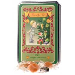 Dreng - Glædelig-jul-dåse med karameller, 330g