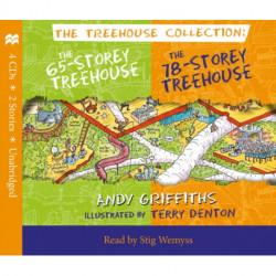 The 65-Storey & 78-Storey Treehouse CD Set