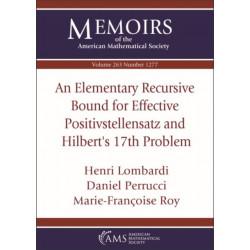 An Elementary Recursive Bound for Effective Positivstellensatz and Hilbert's 17th Problem