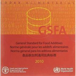 General Standard for Food Additives: GFSA 2010: Codex Alimentarius