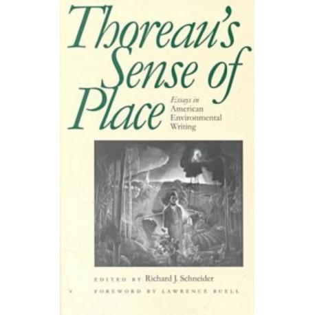 Thoreau's Sense of Place: Essays in American Environmental Writing
