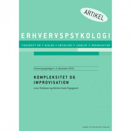 Kompleksitet og improvisation