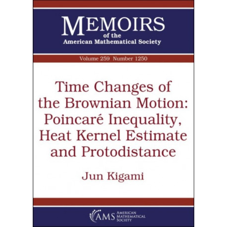 Time Changes of the Brownian Motion: Poincare Inequality, Heat Kernel Estimate and Protodistance