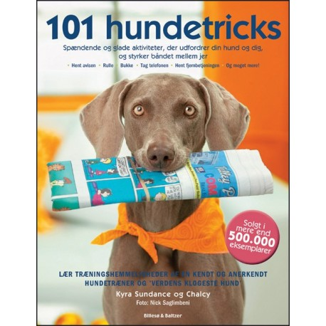101 hundetricks: spændende og glade aktiviteter, der udfordrer din hund og dig, og styrker båndet mellem jer