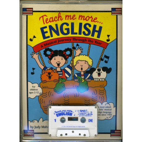 Teach Me More... English/ESL: Cassette: A Musical Journey Through the Year