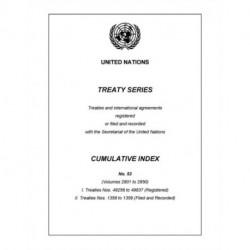 Treaty Series Cumulative Index Number 53
