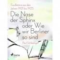 Die Nase der Sphinx oder Wie wir Berliner so sind