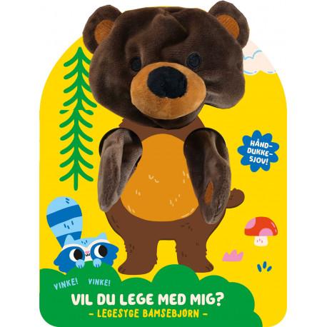 Vil du lege med mig, Bamsebjørn?: Hånddukke-sjov!