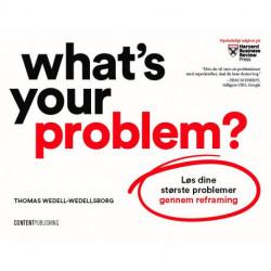 What's Your Problem?: Løs dine største problemer gennem reframing