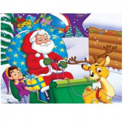 Velkommen til Julemandens Værksted: Pop-up bog