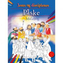 Jesus og disciplenes Påske: Malebog