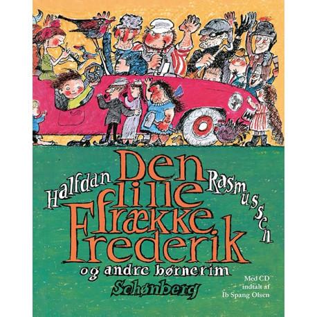 Den lille frække Frederik med CD