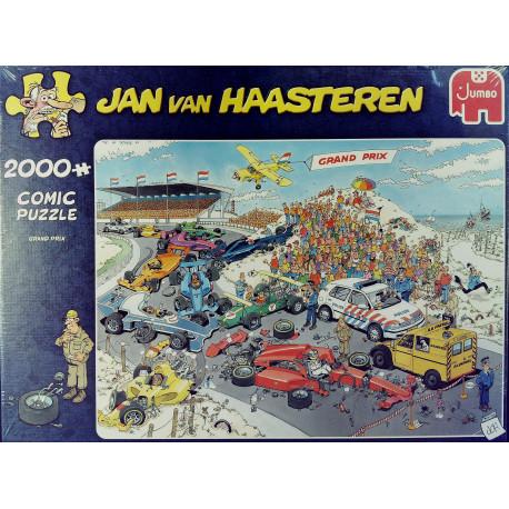 Jan Van Haasteren Puslespil Grandprix - 2000 brikker