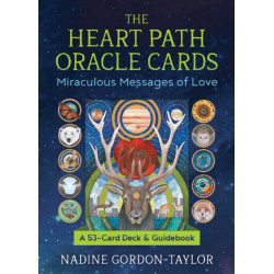 The Heart Path Oracle Cards: Miraculous Messages of Love