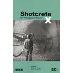 Shotcrete for Underground Support X