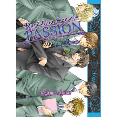 Kurashina Sensei's Passion (yaoi)