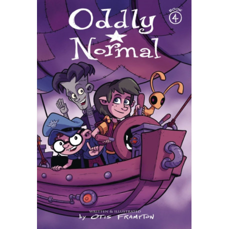 Oddly Normal Book 4