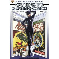 The Overstreet Guide to Grading Comics Sixth Edition Softcover