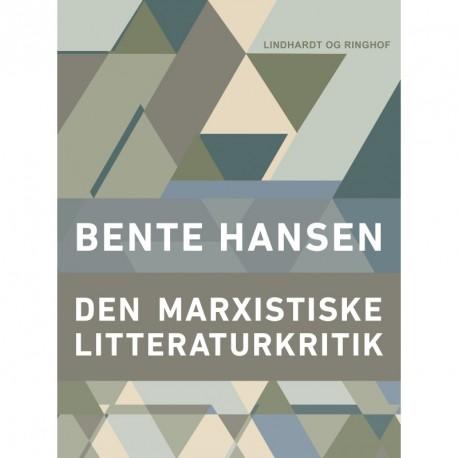 Den marxistiske litteraturkritik