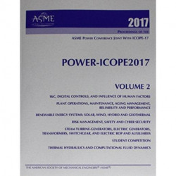 Print proceedings of the ASME 2017 Power Conference (POWER/ICOPE2017): Volume 2