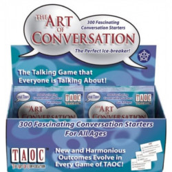The Art of Conversation 12 Copy Display Shipper - All Ages