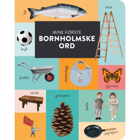 Mine første bornholmske ord