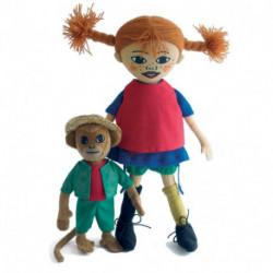Pippi & herr Nilsson dukke (30 cm)