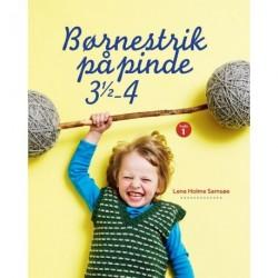 Børnestrik på pinde 3,5-4: hæfte 01