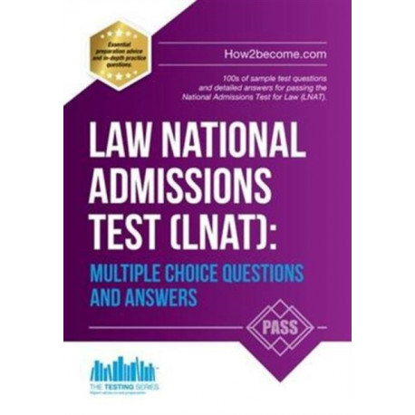 Law National Admissions Test (LNAT): Multiple Choice Questions and Answers
