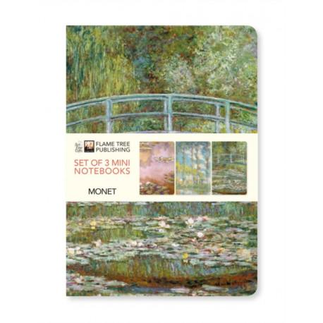 Claude Monet Mini Notebook Collection