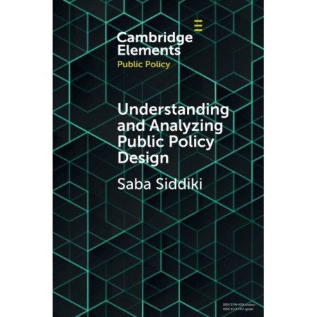 Understanding and Analyzing Public Policy Design