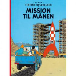 Tintins Oplevelser Standardudgave: Mission til Månen - Hæftet, ny oversættelse