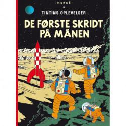 Tintins Oplevelser Standardudgave: De første skridt på Månen - Hæftet, ny oversættelse