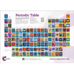 RSC Periodic Table Wallchart, A0